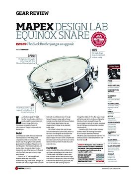 Mapex Design Lab Equinox Snare