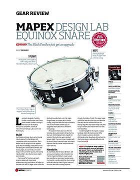 Mapex Design Lab Equinox Snare