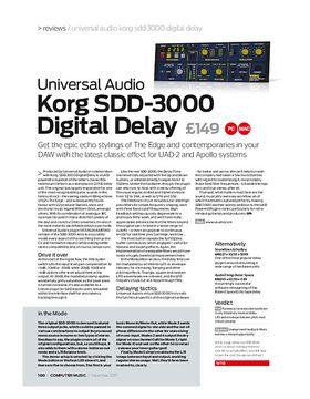Korg SDD-3000 D igital Delay