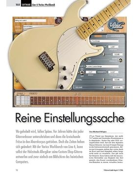 Reine Einstellungssache: Line 6 Variax Workbench