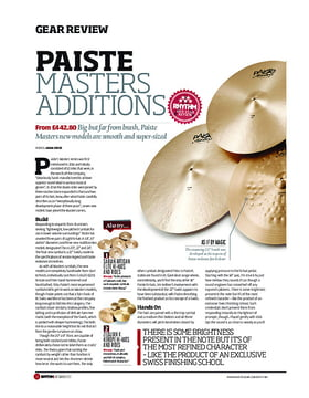 Paiste Masters Additions