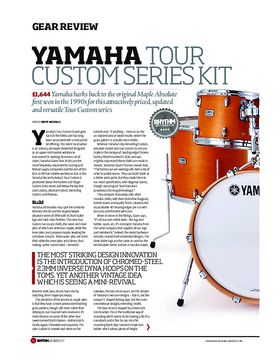 Yamaha Tour Custom Series Kit