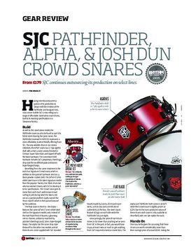 SJC Pathfinder Alpha and Josh Dun Snares