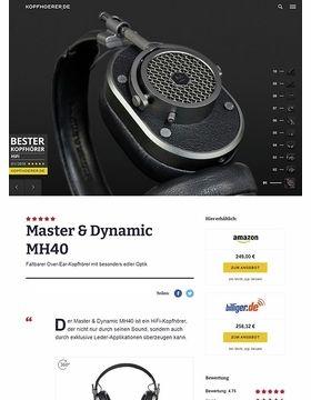 Master & Dynamic MH40 Gunmetal