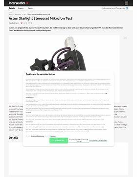Aston Starlight Stereoset Mikrofon