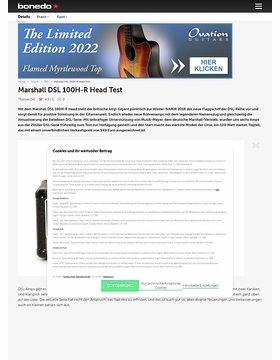 Marshall DSL 100H-R Head