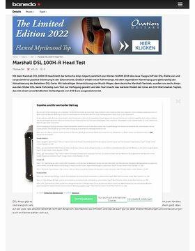 Marshall DSL 100H-R Head