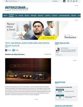 Universal Audio Korg SDD-3000 Digital Delay
