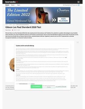 Gibson Les Paul Standard 2018