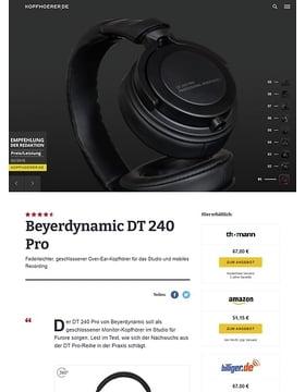Beyerdynamic DT-240 Pro