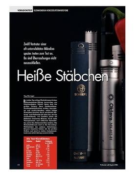 Heiße Stäbchen: Kleinmembran Kondensator Mikrofone