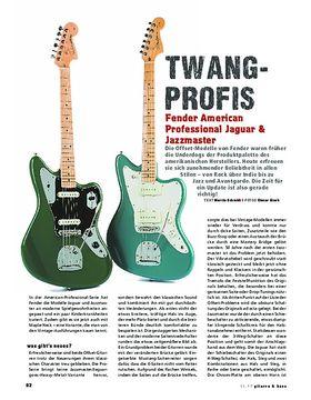 Fender American Professional Jaguar & Jazzmaster