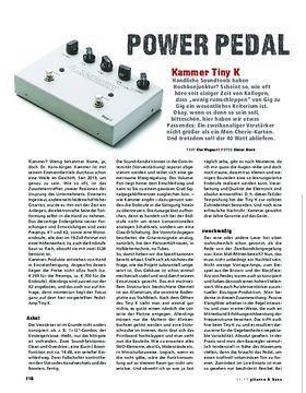 Kammer Tiny K, Pedal-Amp