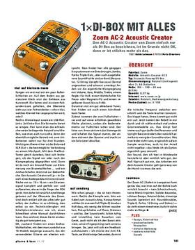 Zoom AC-2 AcousticCreator