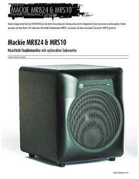 Mackie MR824 & MRS10