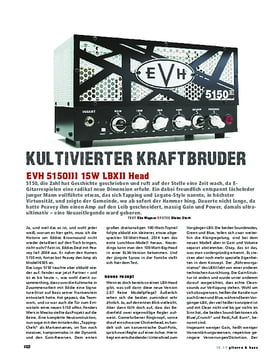 EVH 5150III 15W LBXII Head