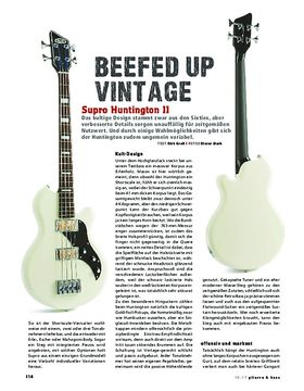 Supro Huntington Bass