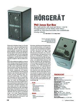 Phil Jones Ear-Box