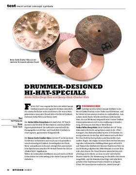 Meinl Artist Concept Cymbals