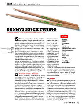 Vic Firth Benny Greb Signature Sticks