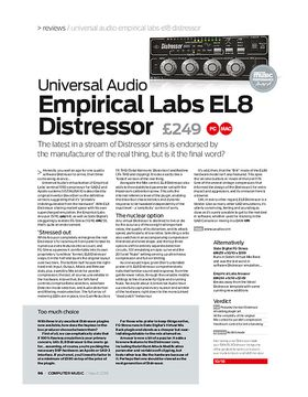 Universal Audio Empirical Labs EL8 Distressor