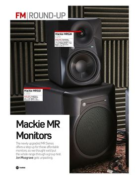 Mackie MR Monitors (MRS10 & MR624)