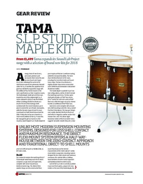 S.L.P. Studio Maple Kit 4-pc