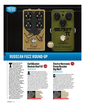 Green Russian Big Muff Fuzz