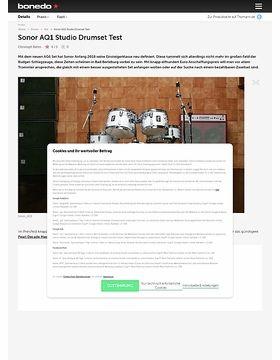Sonor AQ1 Studio Drumset
