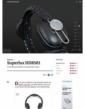 Superlux HDB-581 Black