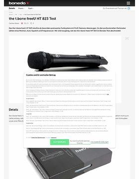 the t.bone freeU HT 823
