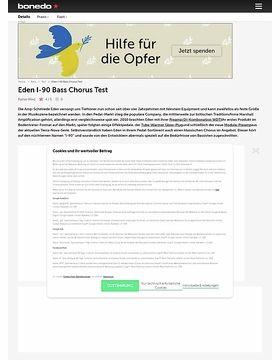 Eden I-90 Bass Chorus