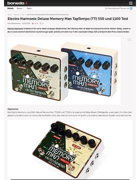 Electro Harmonix Deluxe Memory Man TapTempo (TT) 550 und 1100