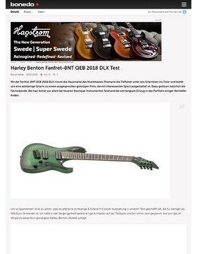 Harley Benton Fanfret-8NT QEB 2018 DLX