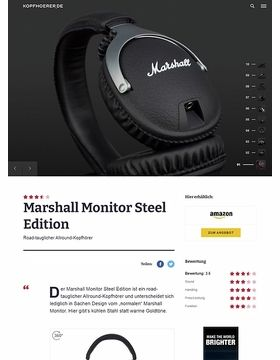 Marshall Monitor Steel Edition