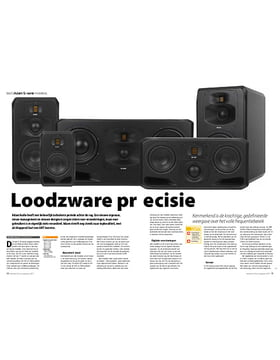 Adam Audio S-serie monitors