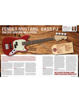 Fender Mustang Bass PJ