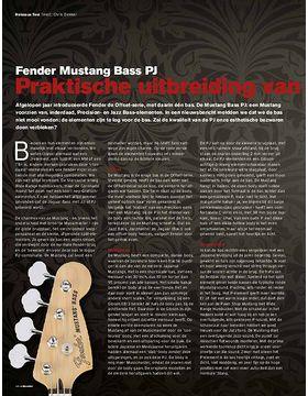 Fender Mustang PJ