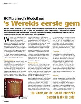IK Multimedia ModoBass