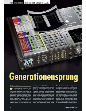 Generationensprung: Metric Halo Mobile I/O ULN2 2d Expanded