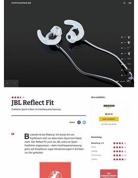JBL by Harman Reflect Fit Black