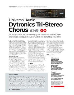 Universal Audio Dytronics Tri-Stereo Chorus