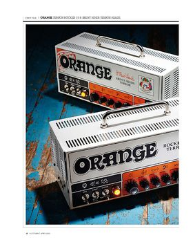 Orange Terror Brant Hinds Signature 15 Head
