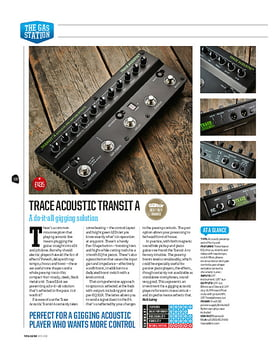 Trace Acoustic Transit A