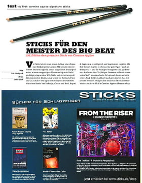 Vic Firth Carmine Appice Signature Sticks