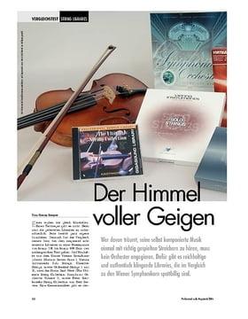 Der Himmel voller Geigen: String Libraries