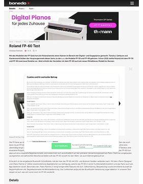 Roland FP-60