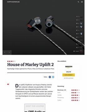 Uplift 2 Black 3-Button Remote