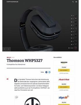 Thomson WHP5327