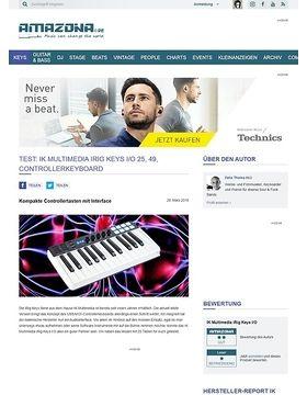 IK Multimedia iRig Keys I/O 25, 49
